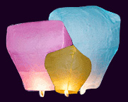 Mixed Sky Lanterns