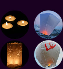 Heart shape Flying Lantern